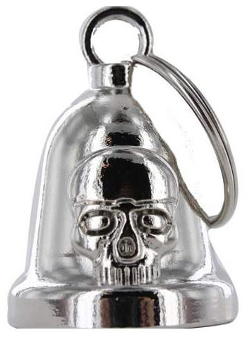 Skull - Motorcycle Ride Bell - SKU BLC28-DL