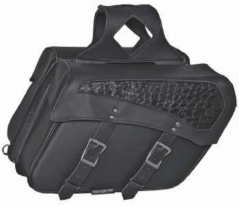 UNIK PVC Saddle Bag - SKU 9527-ZP-UN