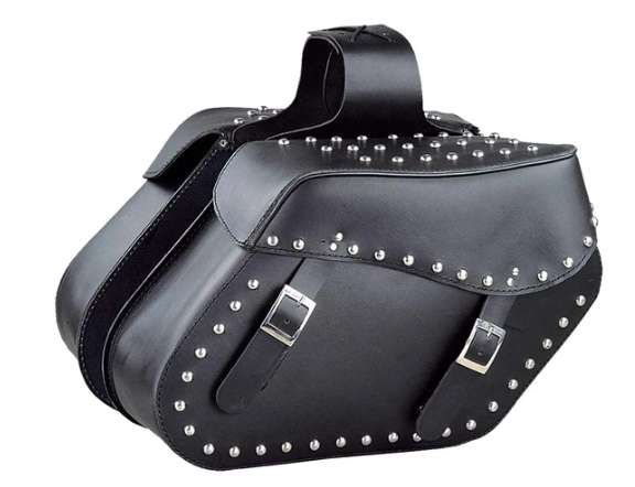 UNIK PVC Saddle Bag with Studs - SKU 1653-SD-UN