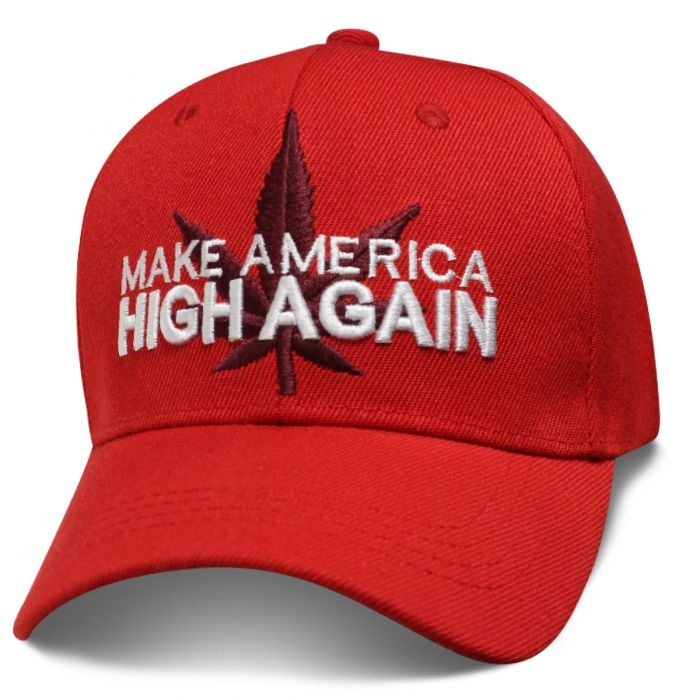 Make America High Again - Baseball Cap - SKU SMKEHA-DS