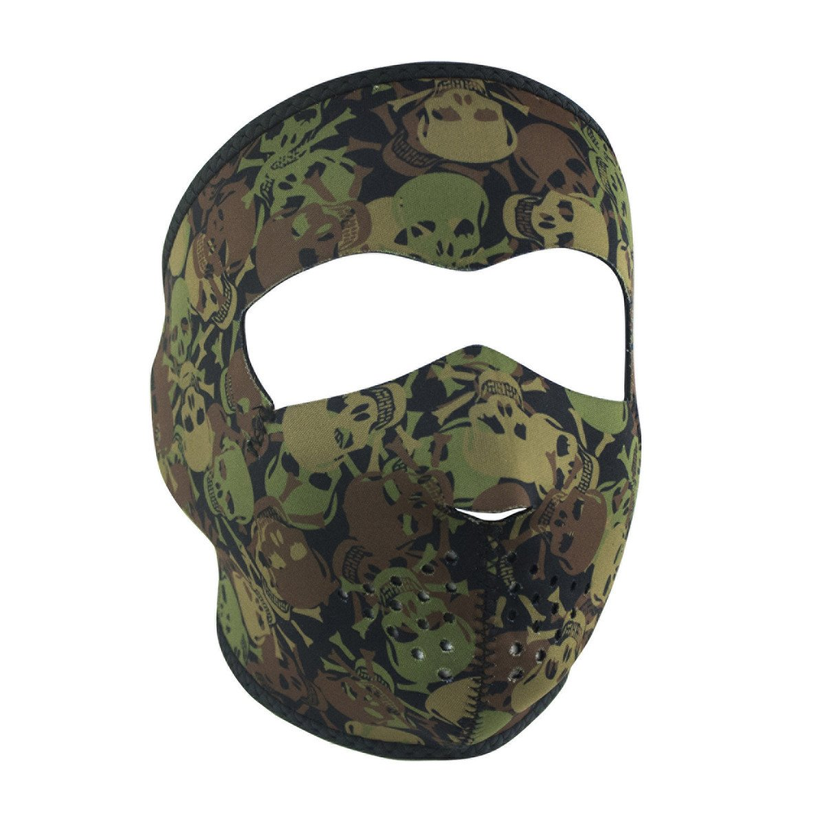 Camo Skull Neoprene Full Face Mask - SKU WNFM418-HI
