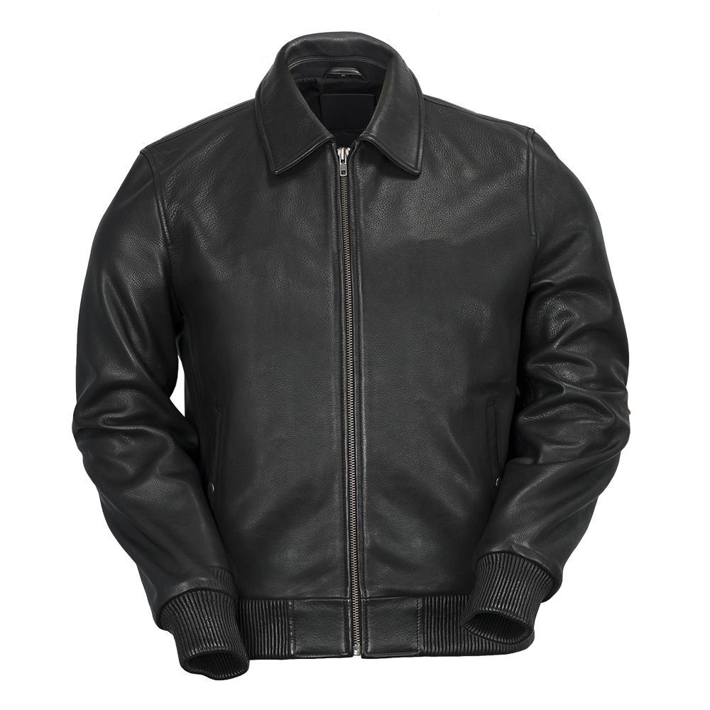 Castor - Men's Leather Bomber Jacket - WBM2351-FM