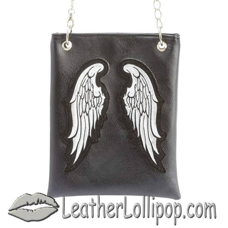 Casual Outfitters Ladies Angel Wings Purse Handbag - SKU LUPURWNG-BF