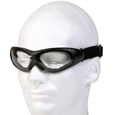Motorcycle Goggles With Clear Lens - SKU GG1502-CLEAR-DL