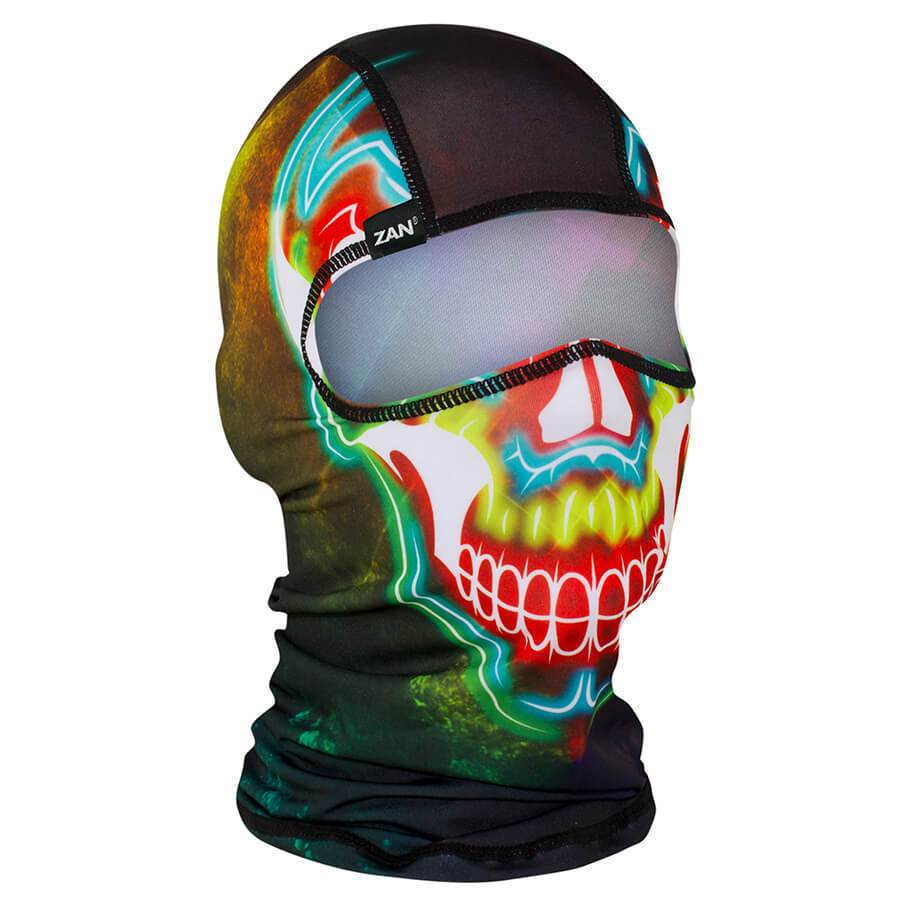 Balaclava Face Mask - Electric Skull Design - SKU ELECTRICSKUBALA-HI