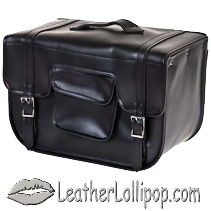 PVC Carry On Motorcycle Single Saddlebag - SKU SD12-PV-DL