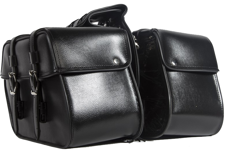 PVC Motorcycle Saddlebags - SKU SD4079-PV-DL