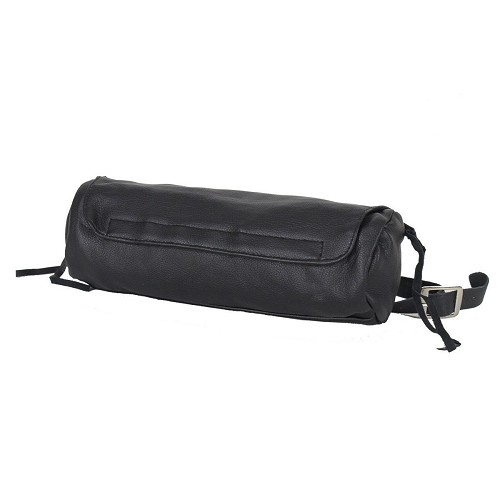 Soft PVC Motorcycle Tool Bag - Fork Bag with Zipper Pocket - SKU LL-TB3021-DL