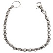 BOGO - Chain with Skulls, Great Addition to your Wallet - You Get Two - SKU LL-WTC8-DL