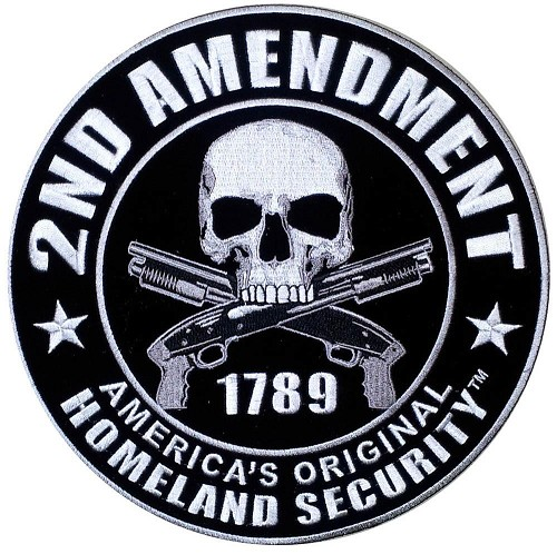 2nd Amendment Original Homeland Security Vest Patch - SKU PPA5957-HI