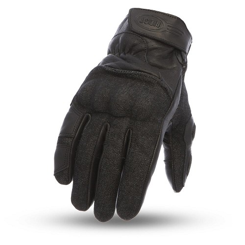 Hutch - Two Toned Leather Combo Gloves - SKU LL-FI202-FM