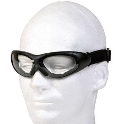 Motorcycle Goggles With Clear Lens - SKU LL-GG1502-CLEAR-DL