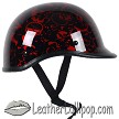 Polo Jockey Novelty Motorcycle Helmet Boneyard - Color Choice - SKU BY-POLO-NOV-HI